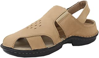 Athlego Men's Leather Outdoor Sandals & Floaters