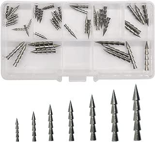 Fishing Tungsten Nail Weights Sinker Pagoda Pencil Sinker Wacky Bullet Flipping Sinker Tungsten Worm Insert Fishing Weight