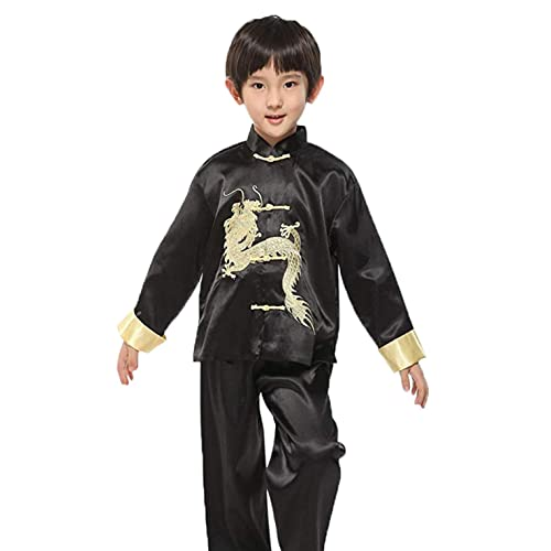 32bf6dc88 Suimiki Traditional Chinese Dragon Kung Fu Outfit Tang Suit for Boys