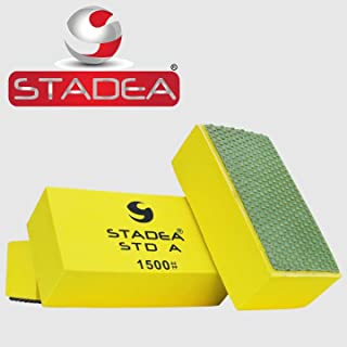 Stadea Diamond Hand Polishing Pad Grit 1500 for Concrete Glass Stone Granite
