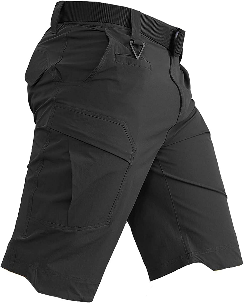 CARWORNIC Men's Quick Dry Tactical Lightweight half Super intense SALE Stretch Shorts Ou