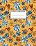 Composition Notebook:Size 8.5 x 11, College Ruled, 100 pages Notebooks with sophisticated and precious cover the main theme is the succulent: To Do Lists for You to Organize