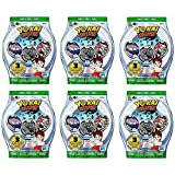 6 Blind Bags: Yo-Kai Watch Series 3 Medals - 18 Random Medals by Yokai Watch