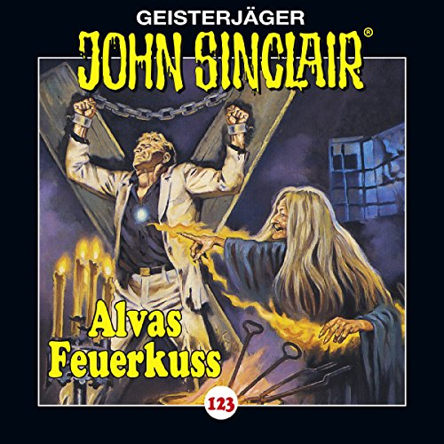 Alvas Feuerkuss audiobook cover art