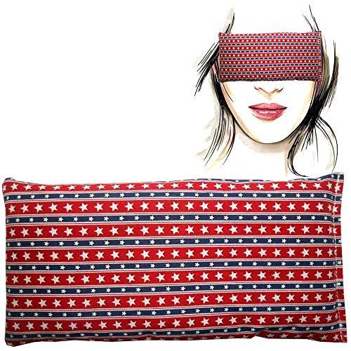 Almohada para los ojos 'Hollywood' | Semillas de Lavanda y arroz | Yoga, Meditación, Relajación, descanso de ojos...