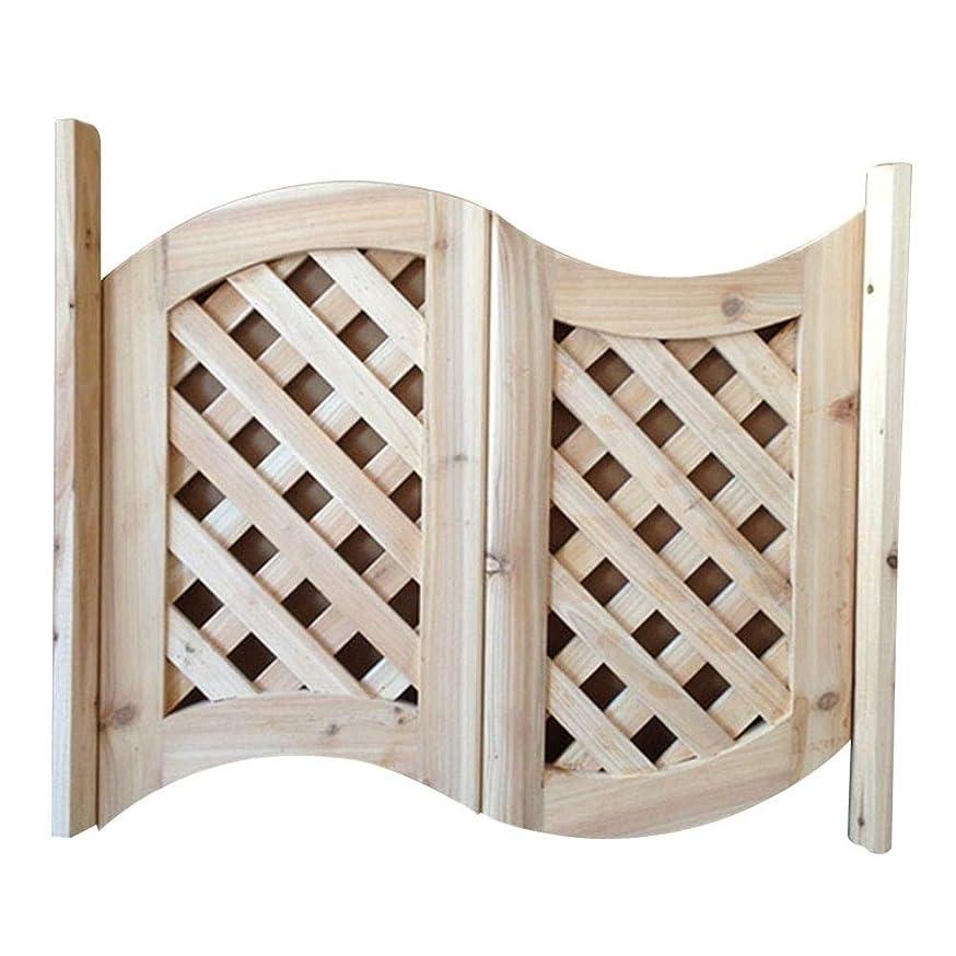 弾薬不運頑固なGuoWei サルーン ドア カフェ ドア スイング ドア 未完成、 キッチン エントランス バー つかいます、 固体 木材、 ちょうつがい 含まれ、 サポート サイズ カスタマイズ (Color : A, Size : 90x80cm)