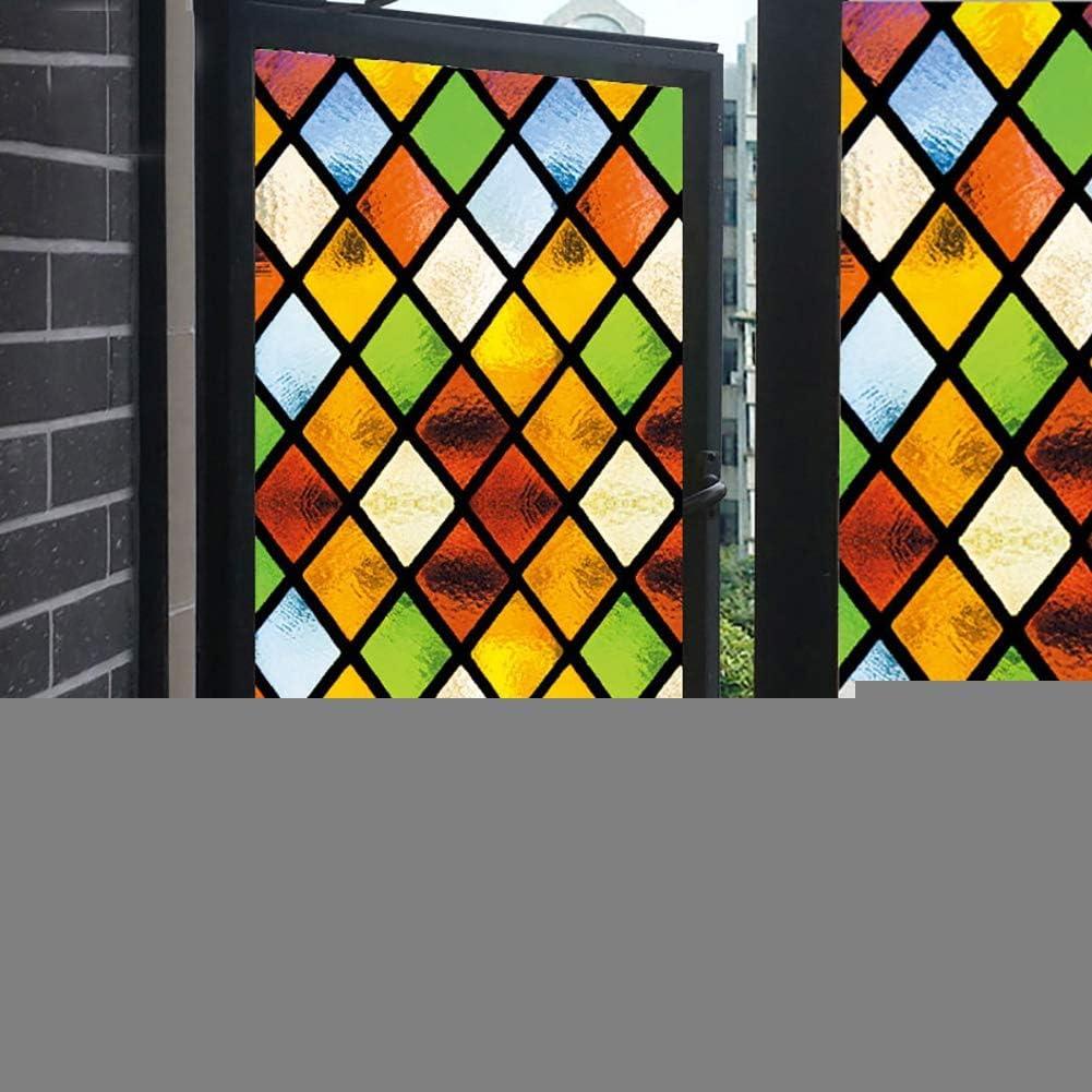 XXRBB Frosted Stained Glass Window Sticker ◆セール特価品◆ Film 値引き Bathroom Opaque