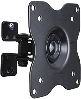 """VideoSecu ML411B Adjustable Tilt Swivel Rotation TV Wall Mount Bracket for 19"""" to 42"""" LCD LED TV and Monitor (Max 44 lbs, ..."""