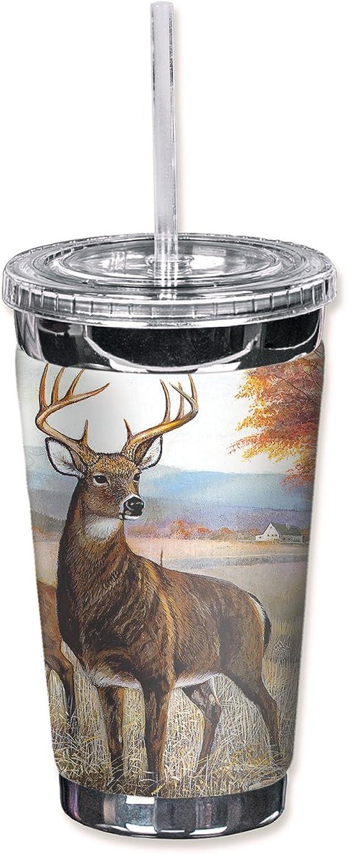 ventas en línea de venta Mugzie 315-tgc  blancoo cola ciervo  to go go go vaso con cubierta de neopreno aislante, 16oz, Color negro  ventas calientes