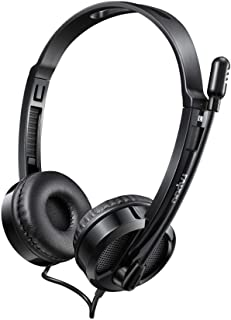 Rappoo Wired Stereo Headset, Black - H100