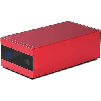 S.M.S.L Sanskrit 10th MKII D/Aコンバーター アップデート 10周年記念バージョン MINI DAC ハイレゾ対応/高性能DAC IC:AK4493EQ搭載/重力センサー内蔵 光 同軸 OTG USB DAC(レッド)