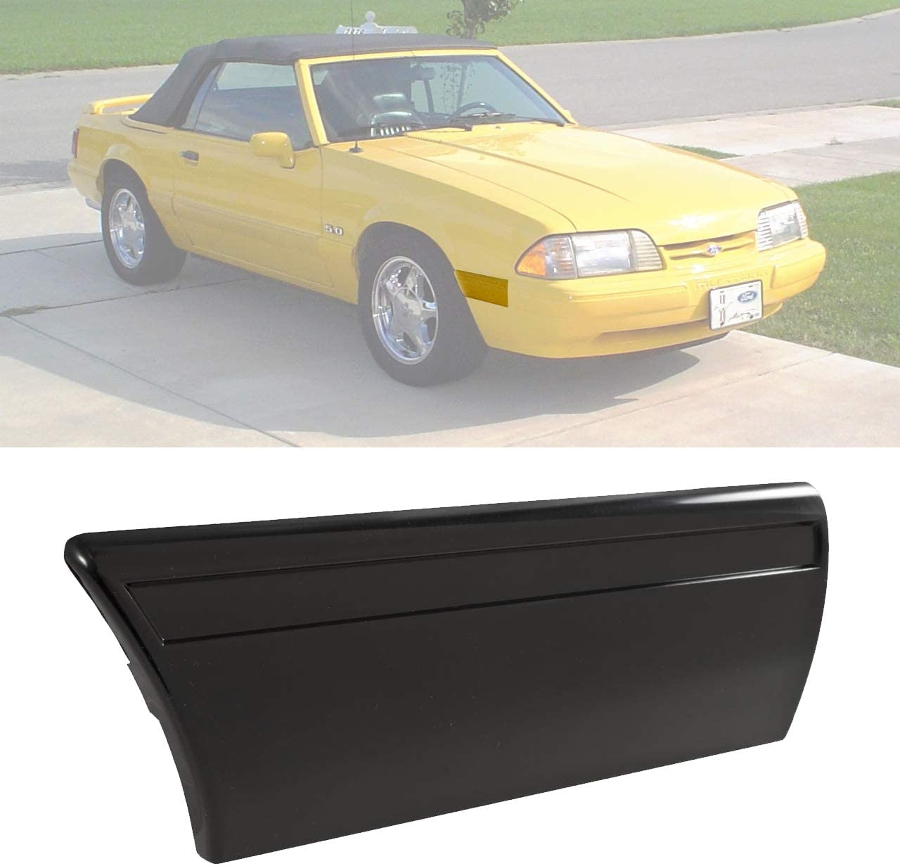Blue Oval Industries 1991-1993 定番キャンバス Mustang Body 定番スタイル Panel to Fender Mold