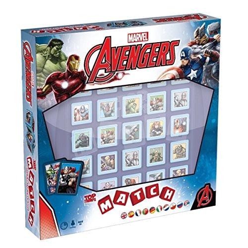 MATCH Marvel Avengers - das strategische Würfelspiel mit den Helden und Schurken des Marvel Universe