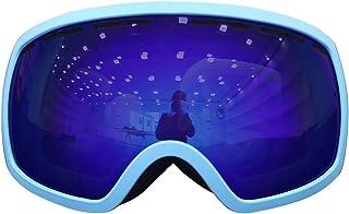 Aooaz Double Layer Lens Anti Fog Ski Goggles Glasses Goggles Ski Equipment