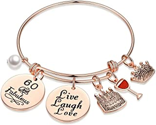 M MOOHAM Bracelets for Women Gifts - Engraved Mantra Stainless Steel Inspirational Bracelet Birthday Christmas Funny Gifts...