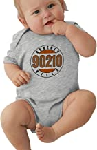 FeiZhiLin BEV_erly Hi_lls, 9021_0 Printed Cute Black Coverall for Baby Bodysuit