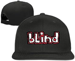 CieMoAs Blind Skate Unisex Adjustable Flat Trucker Baseball Cap Black