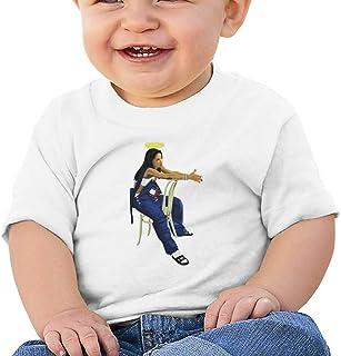Fgrtyt Baby Aaliyah Short Sleeve Cotton Graphic Tee T-Shirt