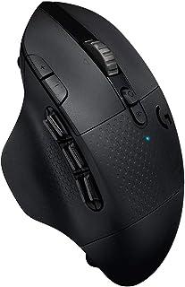Logicool G ゲーミングマウス 無線 G604 MMO 15ボタン HEROセンサー LIGHTSPEED ワイヤレス Bluetooth 接続対応 国内正規品