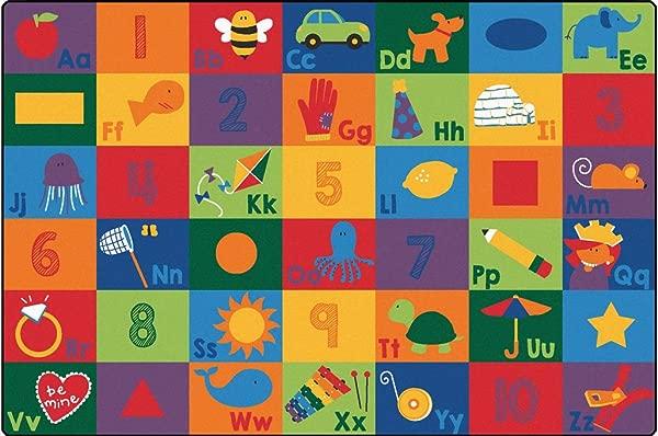 儿童地毯 6734 座位识字地毯多