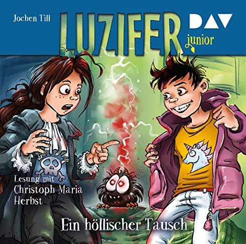 Luzifer junior – Teil 5: Ein höllischer Tausch: Lesung mit Christoph Maria Herbst (2 CDs)