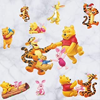 Inconnu Winnie lourson coussin peluche Winnie Blue 42 x 28 cm
