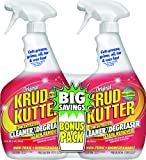 KRUD KUTTER KK32BP/6 32-Ounce Trigger Spray Original Concentrate Cleaner/Degreaser Bonus Pack, 2-Pack