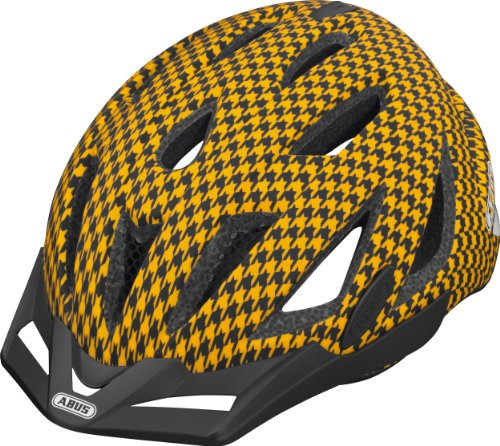 ABUS Fahrradhelm Urban-I, orange wave, 52-57 cm, 58707-8