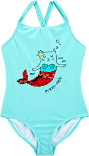 Carter's Girls' One Piece Swimsuit, Purr-Maid