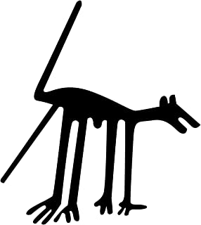 Nazca Lines Dog Wall Decal Sticker 1 - Decal Stickers and Mural for Kids Boys Girls