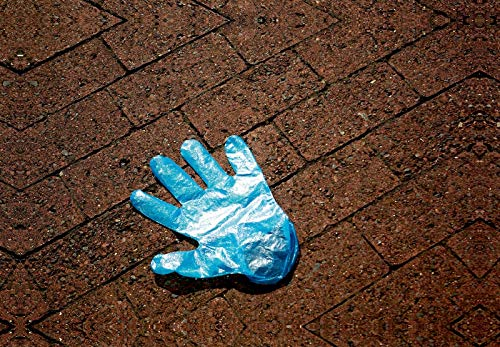 Calvendo Premium Textil-Leinwand 45 cm x 30 cm Quer, Ein Motiv aus Dem Kalender Handschuhe – Verloren – Vergessen | Wandbild, Bild auf Keilrahmen, Fertigbild Leinwand, Leinwanddruck Menschen Menschen - 2