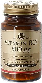 Solgar Vitamina B12 500Mcg 50Cap 053209 1 Unidad 200 g