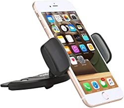 XNYOCN Car Cd Slot Phone Holder Mount for iPhone Xs XS MAX XR X 8 Plus 7 7+ 6s Plus 6s 6 SE Samsung Galaxy S9 S9+ S8 Edge Note 5, Motorla Moto, Pixel, Xperia Cell Phones, GPS, etc.