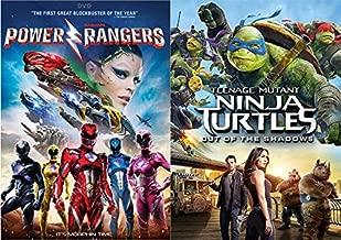 Teen Heroes To The Rescue: Saban's Power Rangers (2017) & Teenage Mutant Ninja Turtles (2014) DVD SET