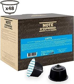 Note D'Espresso Cápsulas, Leche Exclusivamente Compatibles con cafeteras de cápsulas Nescafé* y Dolce Gusto* 48 Unidades 13g, Total: 624 g