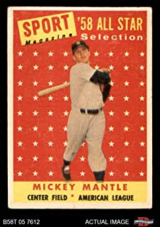 Amazoncom 1940 1960 Trading Cards Sports Collectibles Fine Art