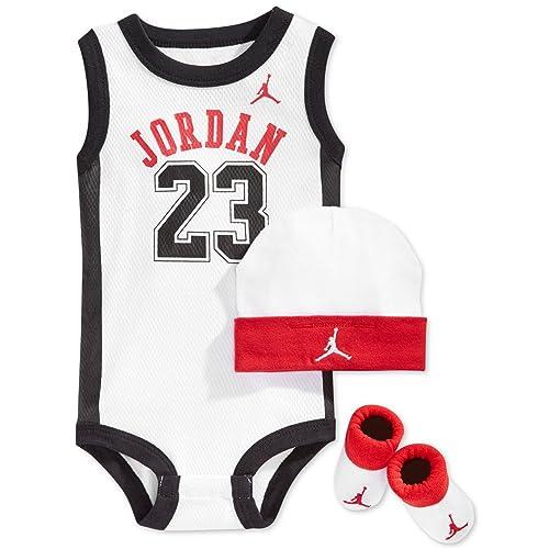 e096e31873f5 NIKE Jordan 23 Jumpman 3 Piece Infant Set