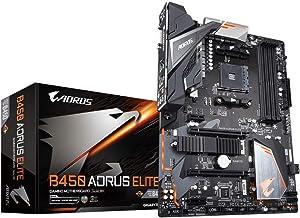 Gigabyte B450 Aorus Elite Carte Mere AMD B450 - Negro