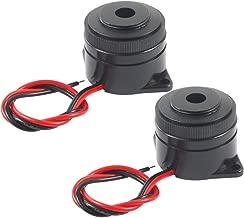 BNYZWOT Active Electronic Buzzer Alarm Sounder Continuous 90dB Beep Speaker DC 12V 2Pcs