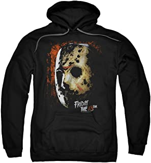 A&E Designs Friday The 13th Hoodie Jason Voorhees Mask Hoody