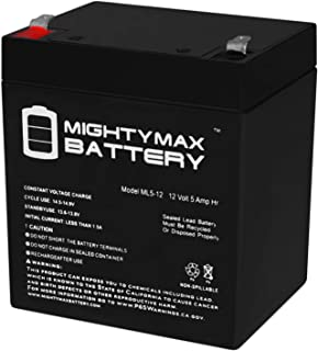 Mighty Max Battery 12V 5AH SLA Battery Replacement for Razor PowerRider 360 Electric Tricycle Brand Product