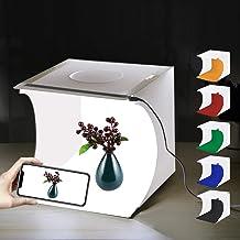 Mini Photo Studio Box, PULUZ 20cm Portable Photography Shooting Light Tent Kit, White..
