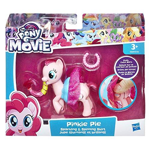 MY LITTLE PONY E0689EL2 La película Brillante y giratoria Falda Pinkie Pie Figura