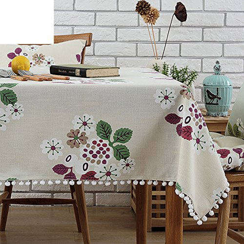 Tafelkleed/doek/pastoraal katoen tafelkleed/mooi tafelkleed/doek/ronde tafel 90x140cm(35x55inch) D