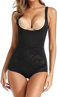 Women Open Bust Bodysuit Shapewear Tummy Control Slimming Waist Trainer Bodysuits Full Body Shaper Briefer