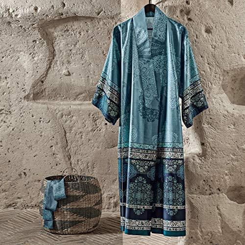 Bassetti Kimono MURGIA B1 blau L-XL cm