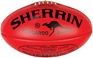 Sherrin AFL Kangaroo Brand KB Leather Size 5 Football