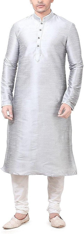 Royal Free Shipping Cheap Bargain Gift Kurta Men's Silk Luxury Max 56% OFF Blend Churidaar