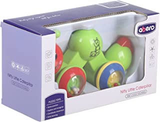 Abero 91034 Nifty Little Caterpillar Toy for Kids - Multi Color
