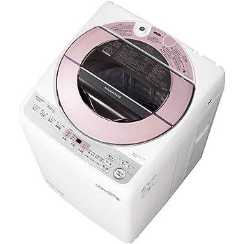 シャープ 洗濯機 穴なし槽 インバーター搭載 ピンク系 7kg ES-GV7D-P